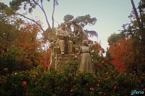 Monumento al poeta Ramón de Campoamor